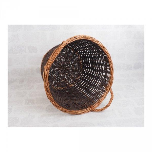 Kosz gospodarczy (Wplot/50cm) - sklep z wiklina - zdjęcie - 1