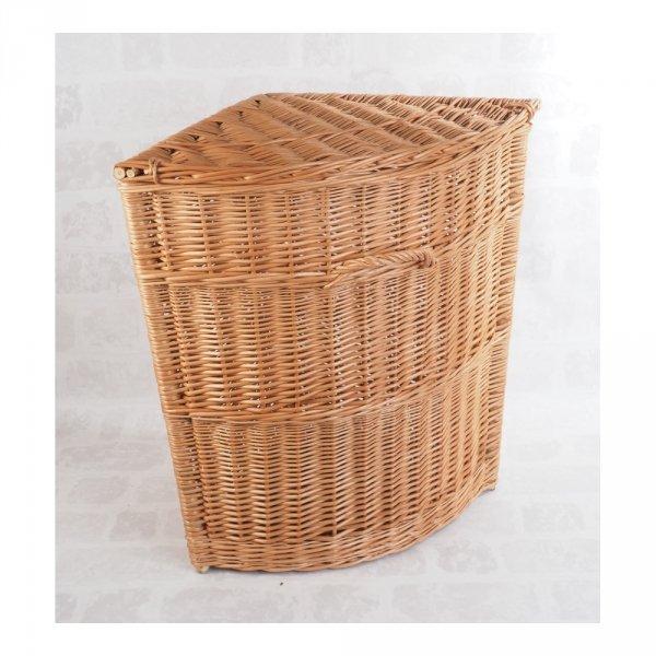 Kosz na ubrania (narożny/40cm) - sklep z wiklina - zdjęcie 1