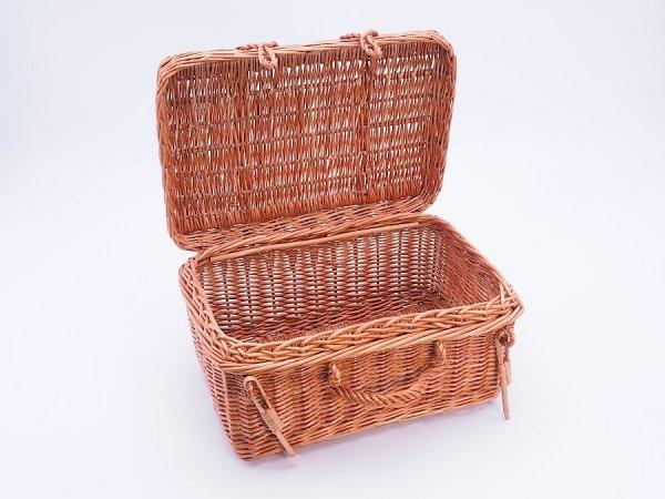 Kosz - kufer piknikowy 48cm - Sklep z wiklina - zdjęcie 2
