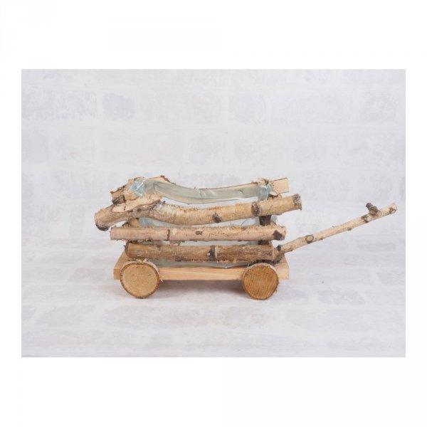 Donica brzozowa (wóz) - sklep z wiklina - zdjęcie 1