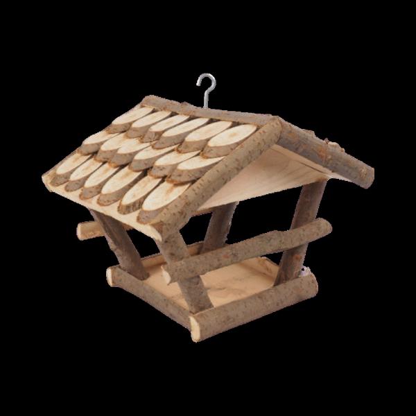 Karmnik dla ptaków (Łuska/Średni) - sklep z wiklina - zdjęcie
