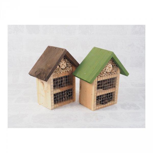 Ekologiczna budka dla owadów (wzór 2) - sklep z wiklina - zdjęcie