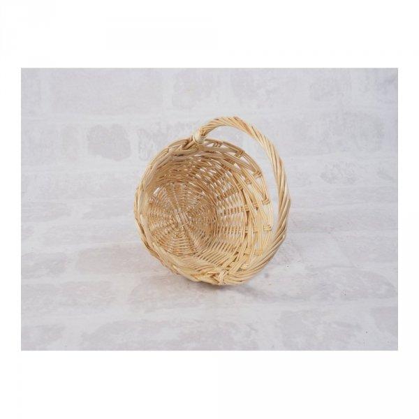 Koszyczek Wielkanocny (beżowy/25cm) - sklep z wiklina - zdjęcie 1