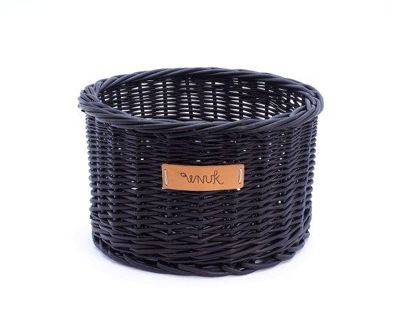 Osłonka na doniczkę (Czarna/24cm) - sklep z wiklina - zdjęcie 1