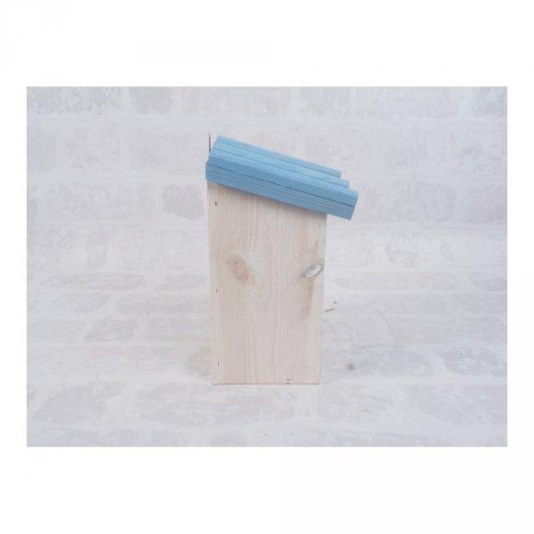 Budka lęgowa dla ptaków (Drewno/Kolor) - sklep z wiklina - zdjęcie 3