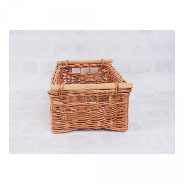 Skrzynka (Naturalna/30cm) - sklep z wiklina - zdjęcie 1