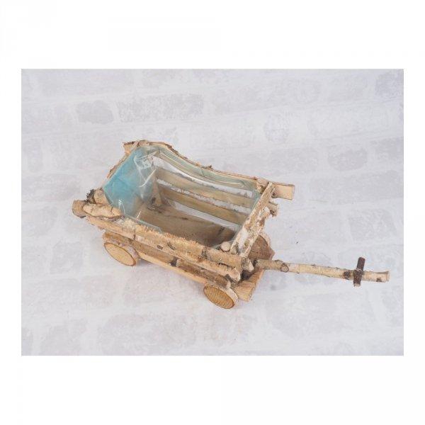 Donica brzozowa (wóz) - sklep z wiklina - zdjęcie 2