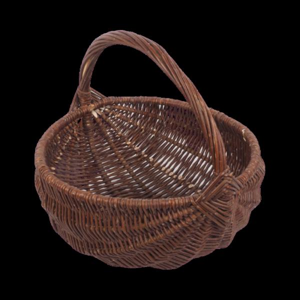 koszyk gospodarczy (baniak/35cm) sklep z wiklina - zdjęcie