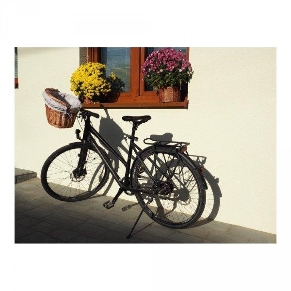 Kosz rowerowy z wkładem (Haki/naturalny) - sklep z wiklina - zdjęcia 6