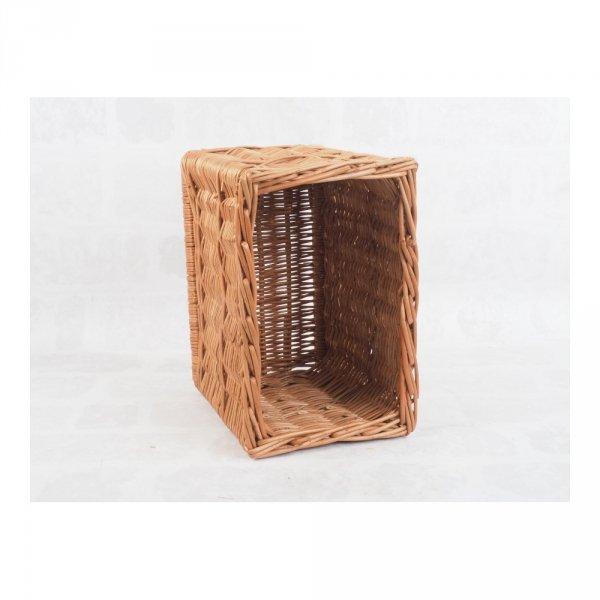 Skrzynka wysoka (Naturalna/28cm) - sklep z wiklina - zdjęcie 1