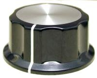 Gałka X1-45 czarna (push-on)