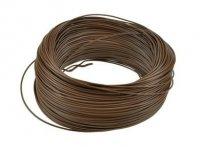 Kabel jednożyłowy brązowy 1x0,75mm H05