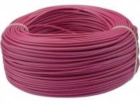 Kabel jednożyłowy różowy 1x0,75mm H05