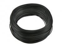 Kabel jednożyłowy czarny 1x0,75mm H05