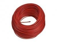 Kabel jednożyłowy czerwony 1x0,75mm H05