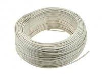 Kabel jednożyłowy biały 1x0,75mm H05