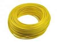Kabel jednożyłowy żółty 1x0,75mm H05