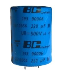 220uF 500V Snap-In BC Components