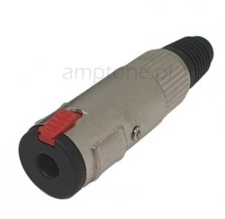 Gniazdo Jack 6,3mm mono na kabel