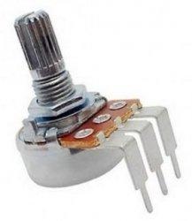 Alpha 100k/C rev log PCB-V (6mm)