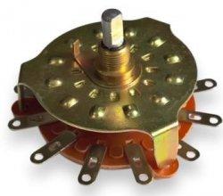 Przełącznik obrotowy 12 pozycji 1 obw RBS 57mm
