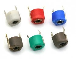 Trymer ceramiczny kondensator 6pF - 30pF