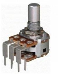 Alpha 2x500k/B liniowy stereo PCB-V
