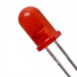 Dioda LED czerwona 5mm