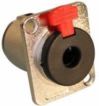 Gniazdo Jack 6,3mm mono z blokadą