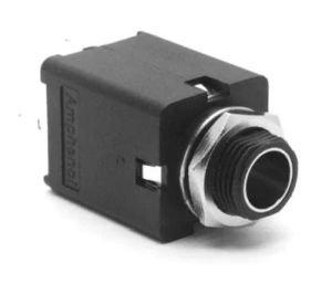 Gniazdo Jack 6,3mm mono Amphenol MIV