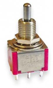 Przełącznik Salecom mini T80 DPDT short 3 pozycje
