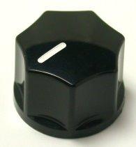 Gałka W6 czarna