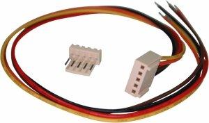 Konektor PCB 5pin, wtyk z kablem