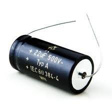 Kondensator 22uF 350V F&T osiowy