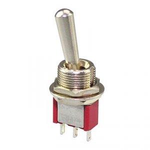 Przełącznik SPDT M102R mini LL (gwint M12)
