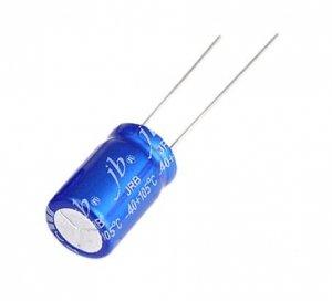 JB capacitor 100uF 50V JRB