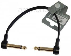 Kabel do łączenia efektów, patch AH, Gold, 15cm