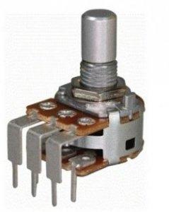 Alpha 2x100k/A logarytmiczny stereo PCB-V
