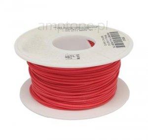 Kabel jednożyłowy Teflon 0,35mm2 czerwony