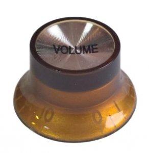 Gałka gitarowa styl Gibson SG amber VOLUME