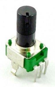 Alpha 9mm plastic - 100k/A logarytmiczny