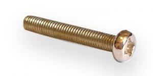 Śruba niklowana M3x20