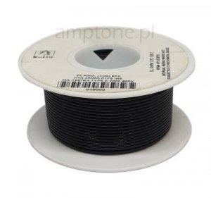 Kabel jednożyłowy Teflon 0,35mm2 czarny