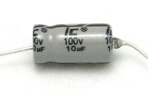Kondensator 1uF 50V osiowy Illinois