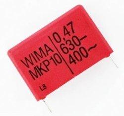 Kondensator MKP10 4,7nF 630V Wima