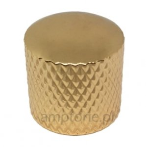 Gałka metalowa dome Gold 18x18
