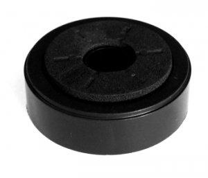 Nóżka plastikowa 48x15 black