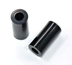Dystans plastikowy czarny 25mm