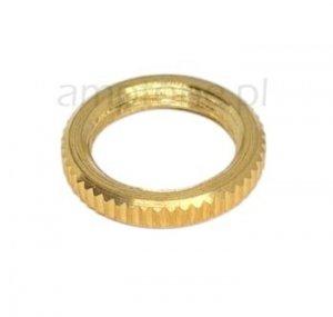 Nakrętka Gold M12 dekoracyjna