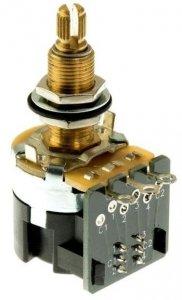 CTS 500k/A logarytmiczny push-pull 6mm LONG